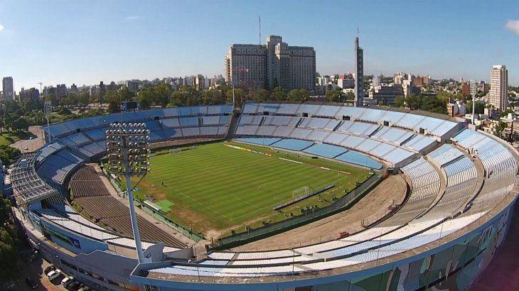 Vista panorámica del estadio Centenario.