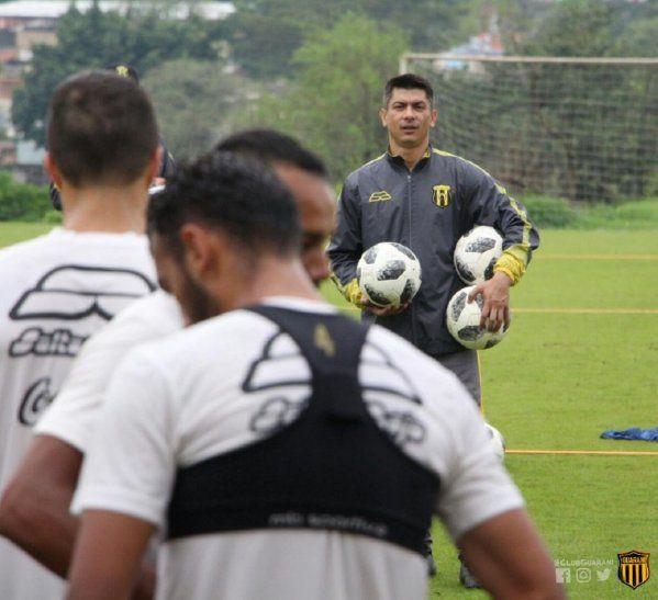 Florentín habló sobre la situación del equipo.