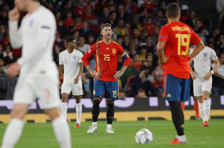 Ramos habló tras la derrota con Inglaterra.