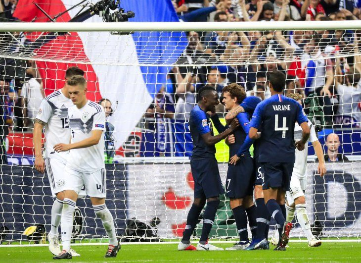 Antoine Griezmann obró la remontada francesa.