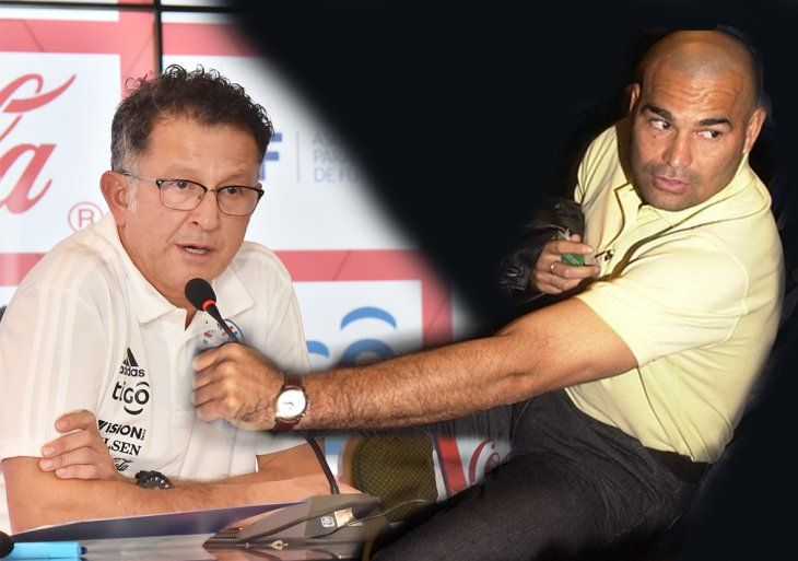 Chilavert criticó duramente a Osorio.