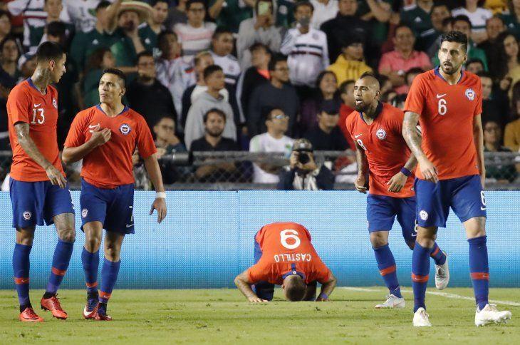Chile venció por la mínima a México.