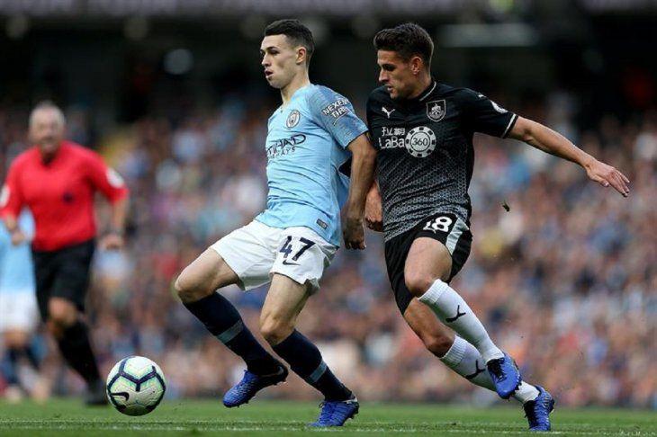 El Manchester City le endosó un 5-0 al Burnley.
