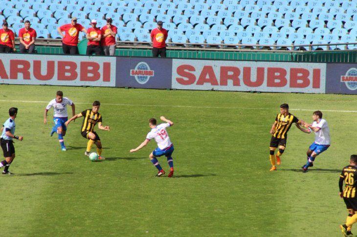Nacional y Peñarol firman el empate en el clásico charrúa.