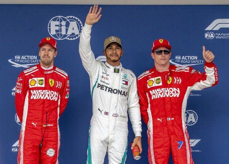 Hamilton logra la pole en Austin.