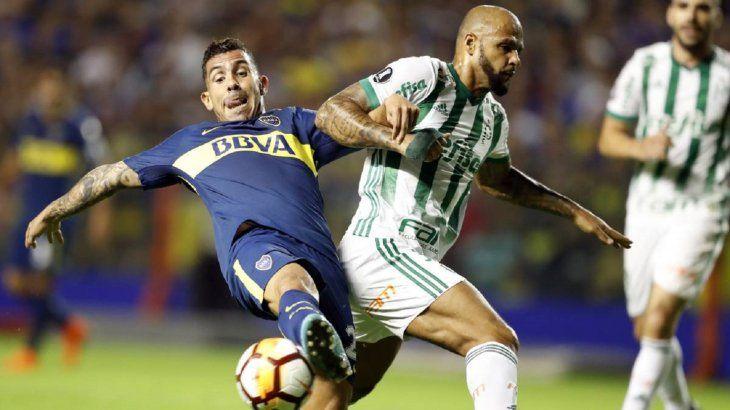 Boca vs. Palmeiras chocarán el miércoles.
