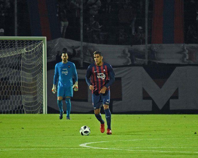 Juan Camilo Saiz debutó con la camiseta de Cerro.