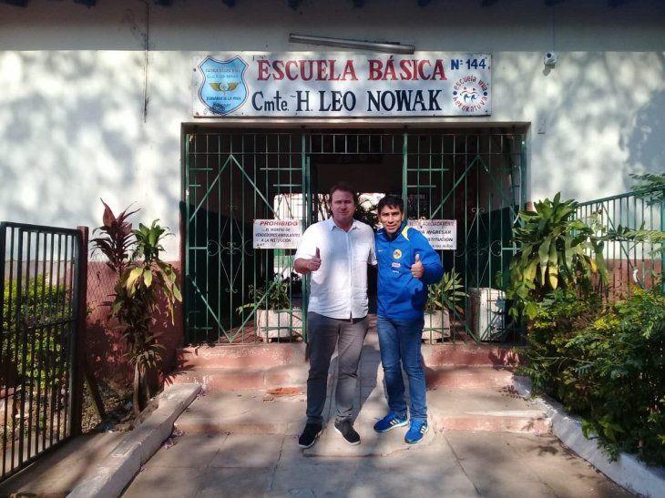 Nelson Cuevas inaugurará su biblioteca futbolera.