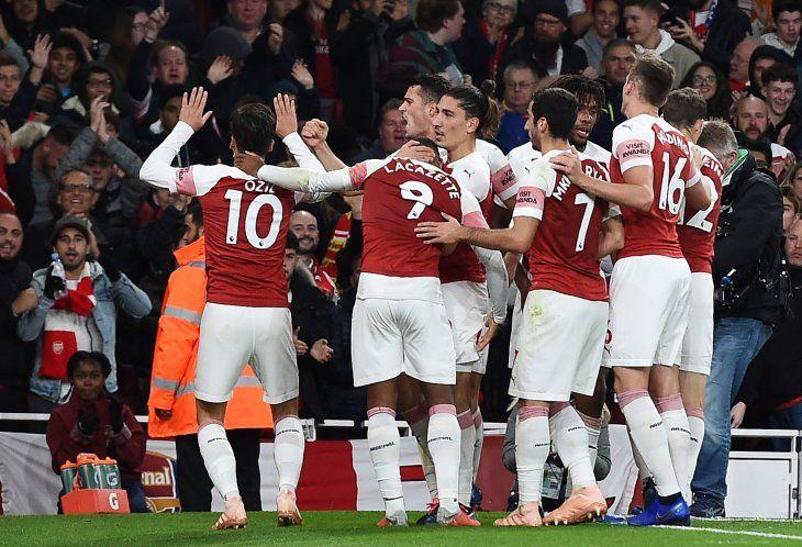 El Arsenal ganó este lunes.