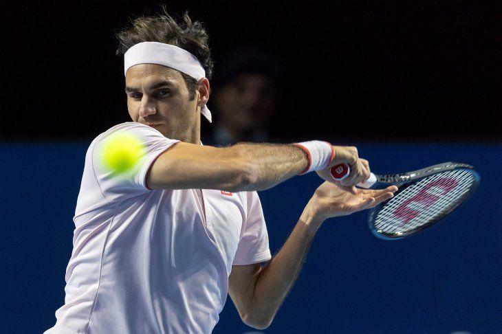 Federer tuvo trabajo para vencer a Krajinovic.