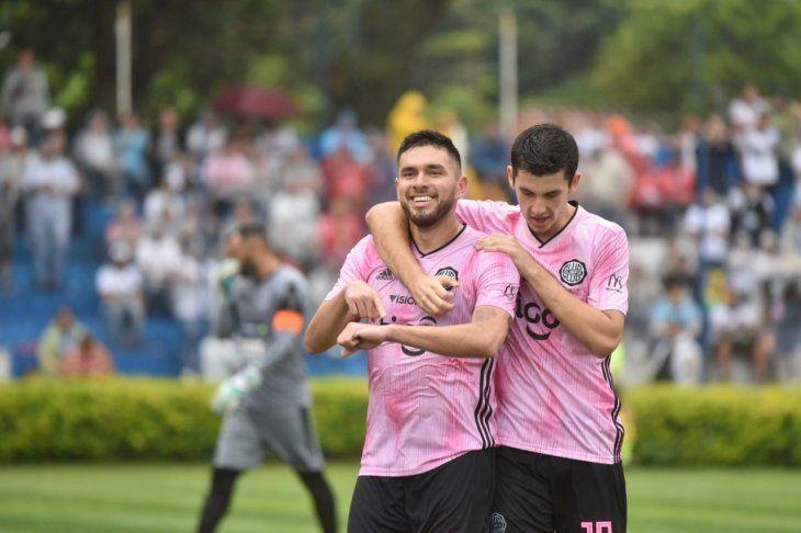 Jorge Ortega y Nicolás Morínigo