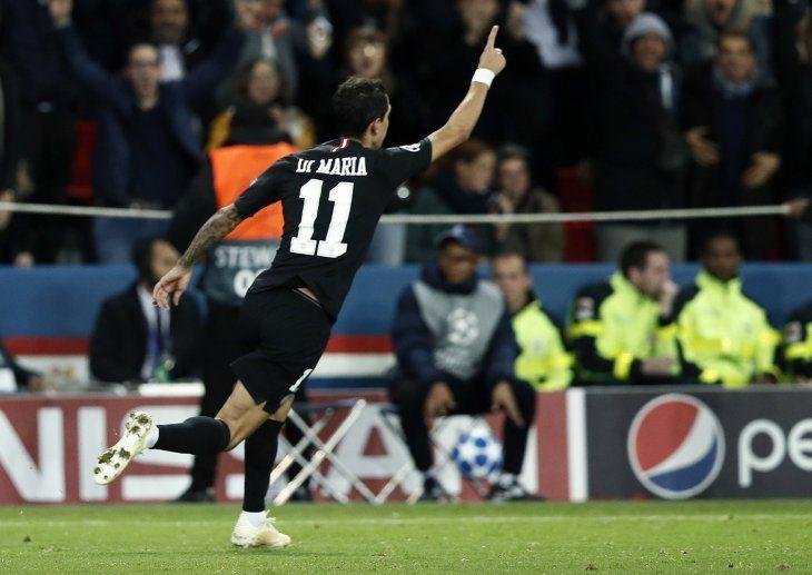 Di María evitó la derrota del PSG.