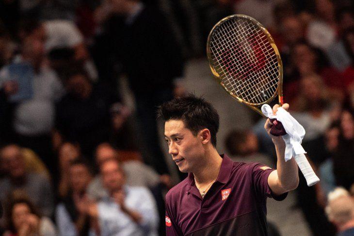 Nishikori ingresó a las semifinales de Viena.