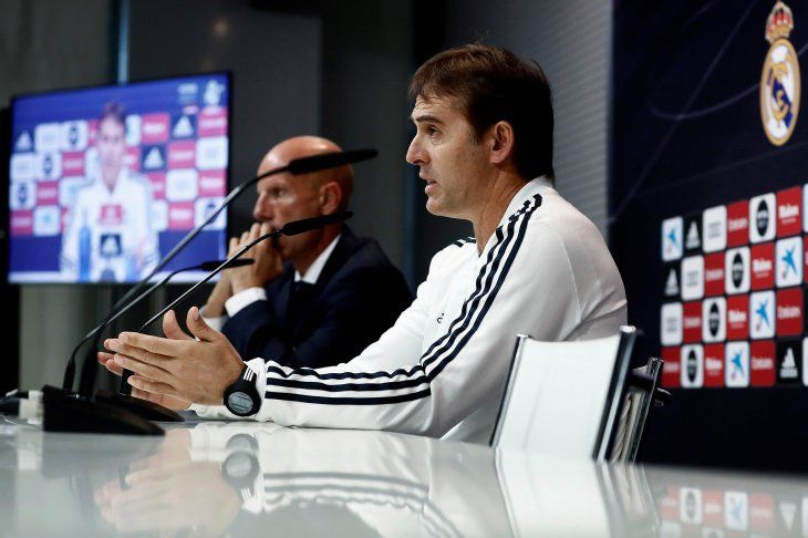 El DT del Real Madrid está en la cuerda floja.