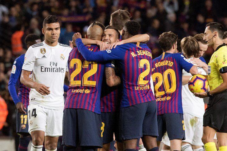 Goleada blaugrana en el Camp Nou.