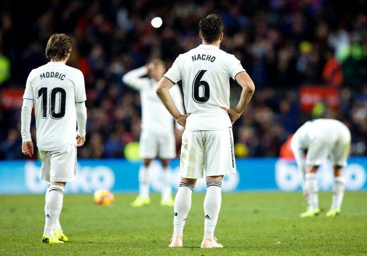 El Real se estrelló en el Camp Nou.