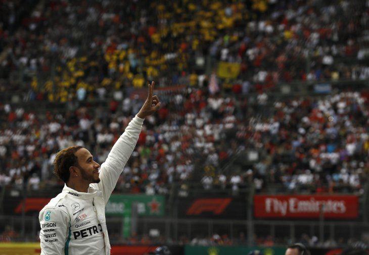 Hamilton alcanzó el título mundial en México