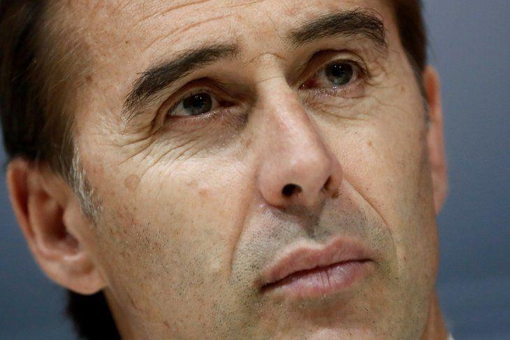 ADIÓS AL BANQUILLO MERENGUE.Julen Lopetegui fue despedido del cargo de entrenador del Real Madrid.