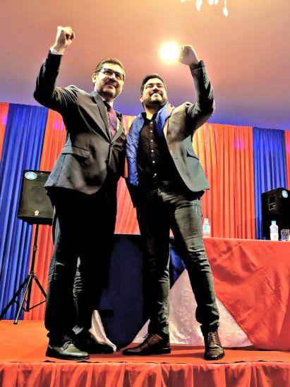 Lucio Maldonado y Javier Monges.