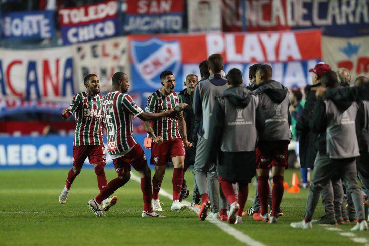 Fluminense se instaló en semifinales.