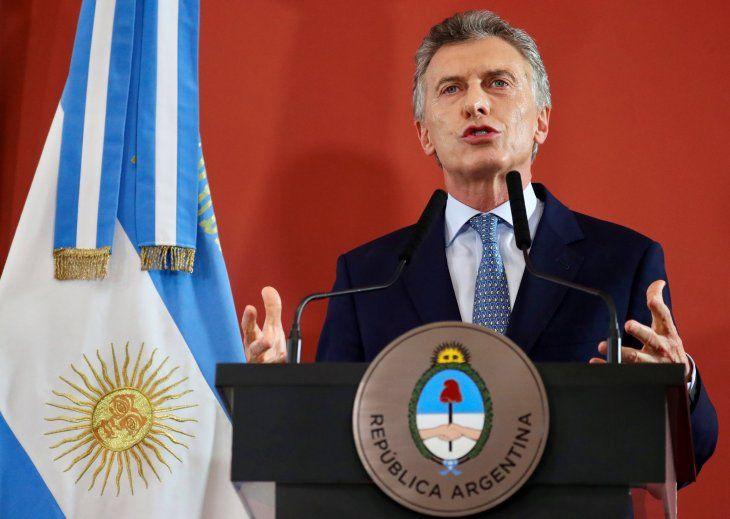 Mauricio Macri y su deseo de que las finales entre Boca y River sean un espectáculo completo.
