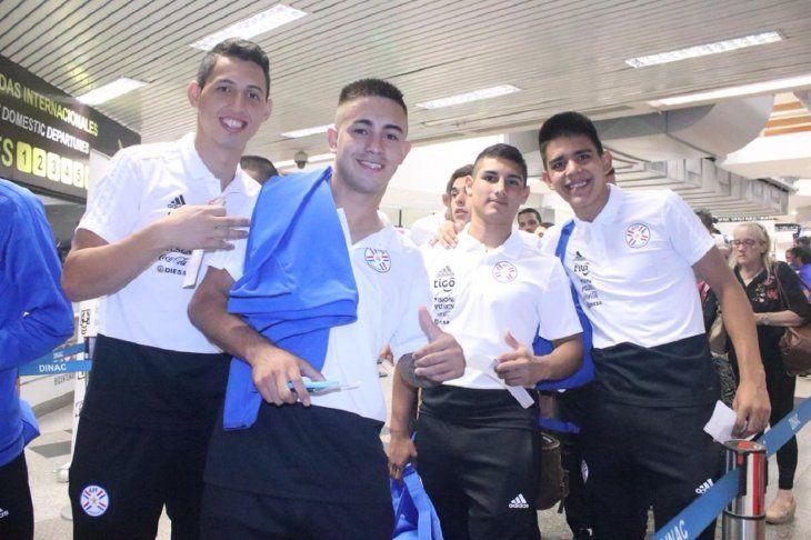 Integrantes de la Selección Paraguaya Sub 20 de Futsal FIFA.
