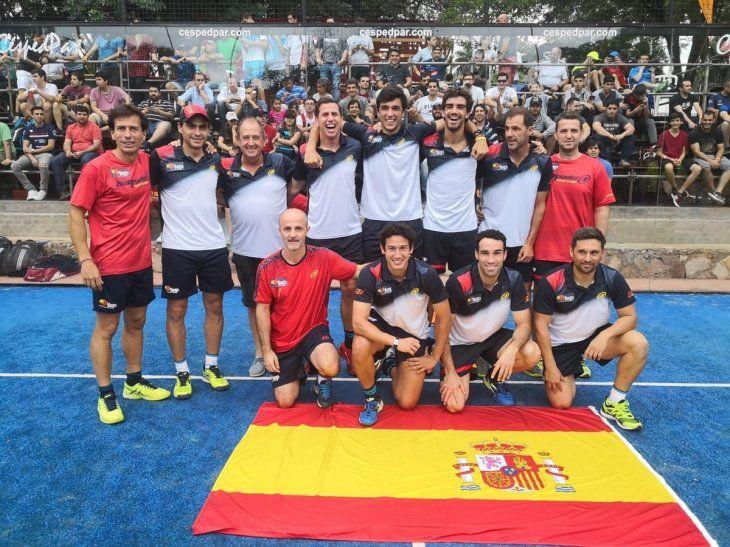 España clasifica a la final del mundial de Pádel.