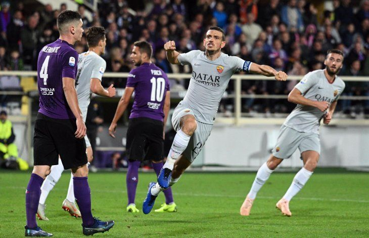 Roma empató ante Fiorentina.