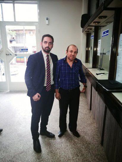 El Dr. Juan José Bestard y el Lic. Juan Casasnovas llegaron hasta la APF para presentar la nota de Cerro.