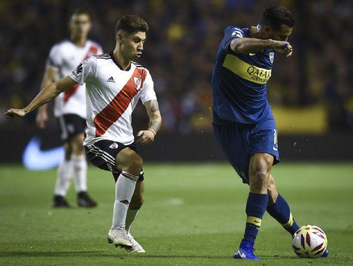 Boca y River jugarán la primera final este sábado.
