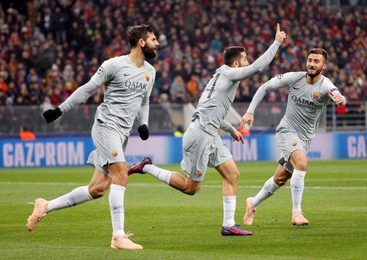 Roma consiguió un valioso triunfo.