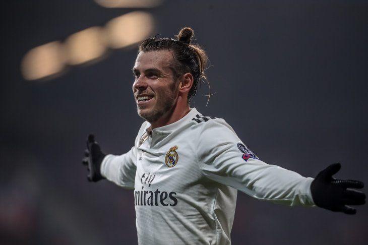 Bale marcó uno de los goles del conjunto merengue.