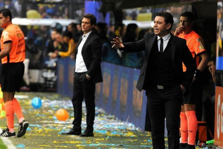 Barros Schelotto y Gallardo