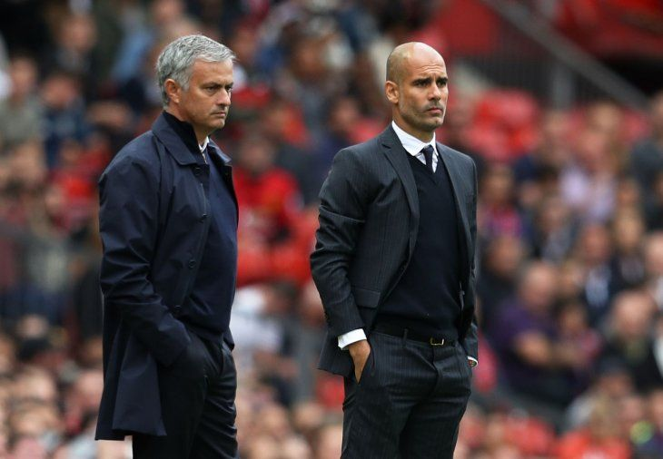 Mourinho y Pep se volverán a ver las caras.