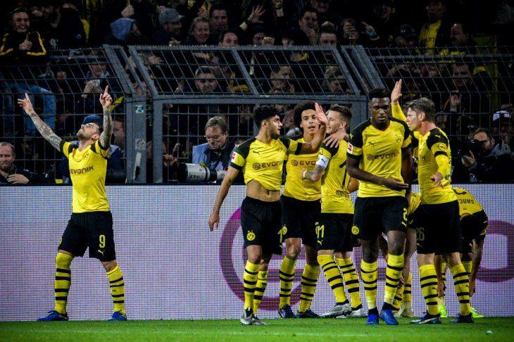 El Dortmund se hace más líder en la Bundesliga.