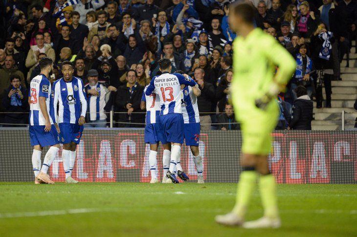 El Porto venció en casa al Sporting.