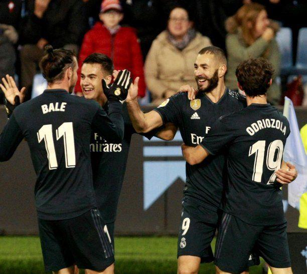 El Real Madrid goleó este domingo.