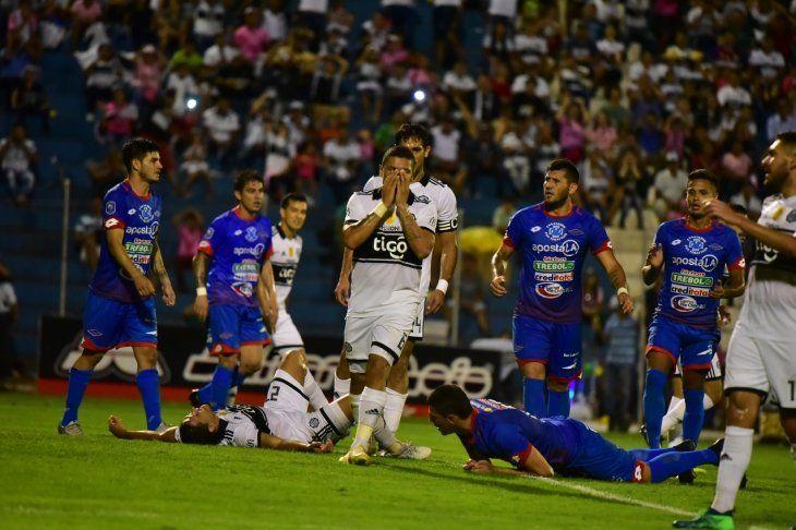 Olimpia empató ante Independiente en PJC.