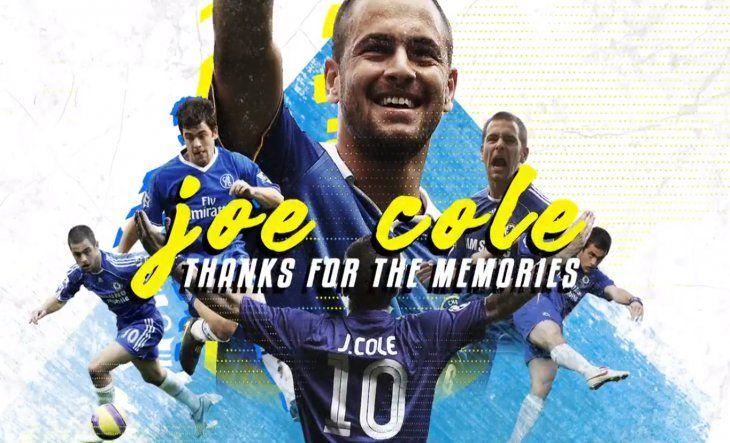 El homenaje del Chelsea para Cole.