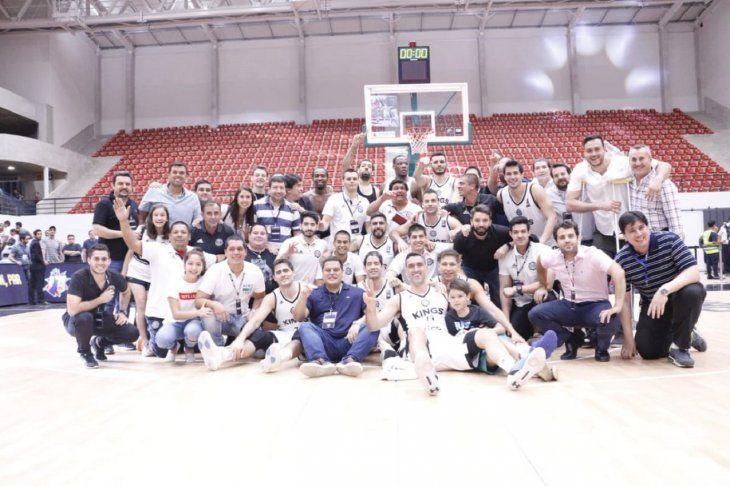 SE DESPIDEN. Los Olimpia Kings cerraron su participación en la Liga Sudamericana de Básquetbol con una victoria.