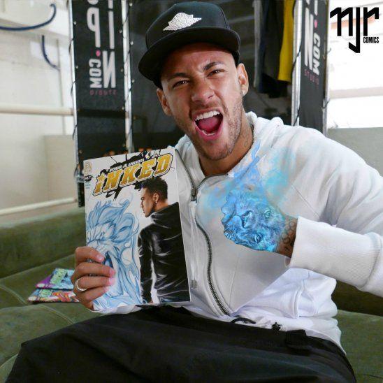 Neymar lleva su vida al cómic.