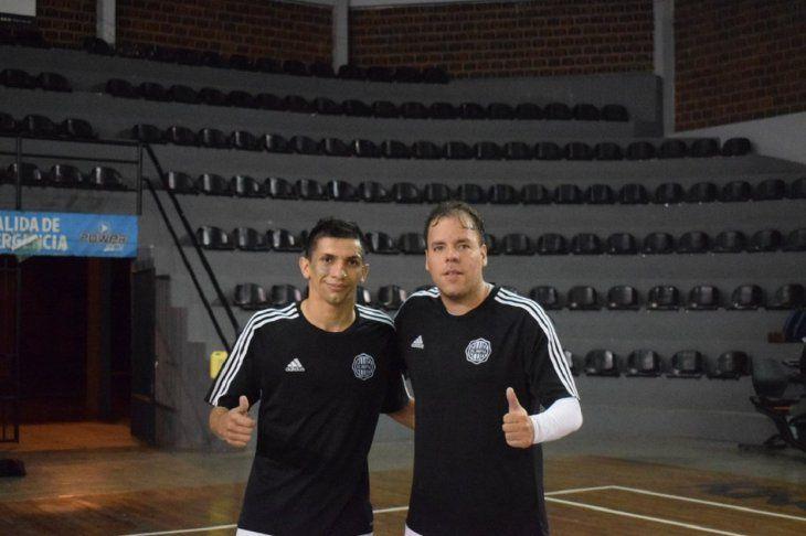 FIGURAS. Arnaldo Báez y Darío Herrera