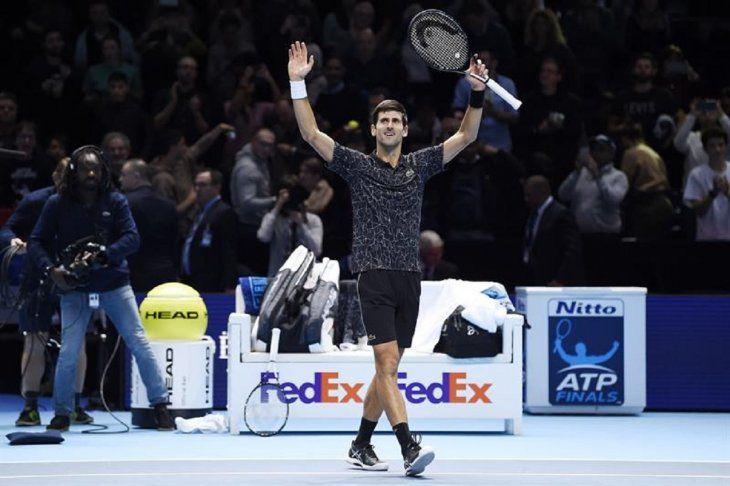 NovakDjokovic pasa a la final de forma invicta.