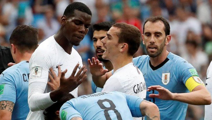 Uruguay y Francia se enfrentarán este martes.