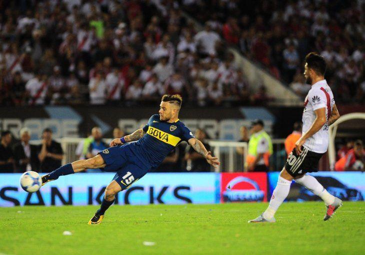 Naitan Nandez espera volver a convertirle a River Plate.