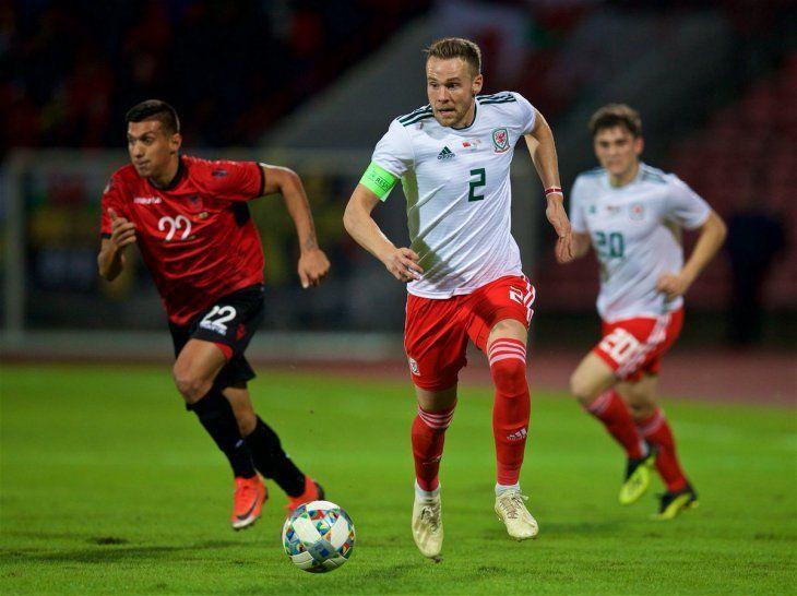 Gales cayó por la mínima ante Albania.