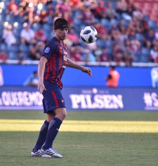 Rodrigo Rojas sería titular ante Luqueño.