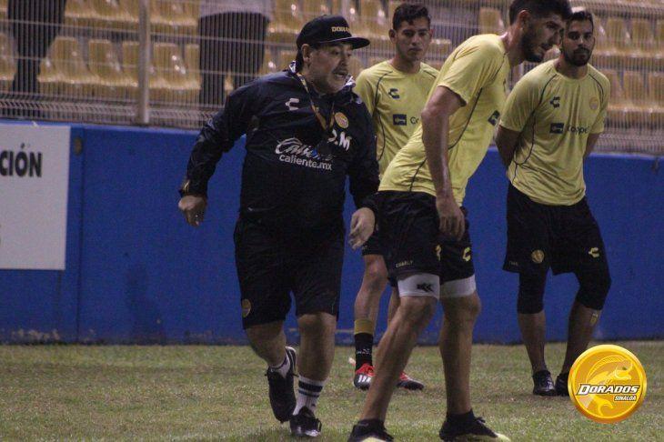 Maradona dio una simpática declaración.