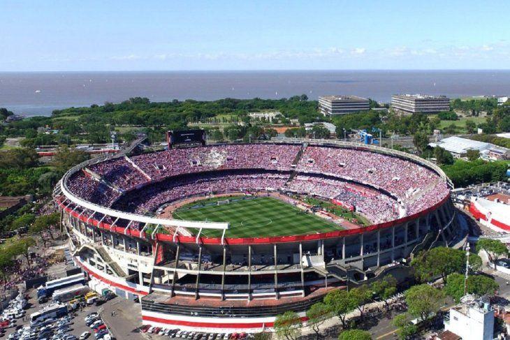El estadio Monumental recibirá la gran final de la Libertadores entre River Plate y Boca Juniors.