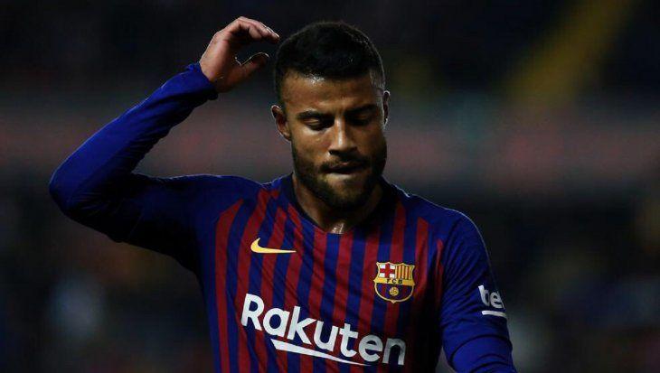 Rafinha se pierde el resto de la temporada con el Barcelona.
